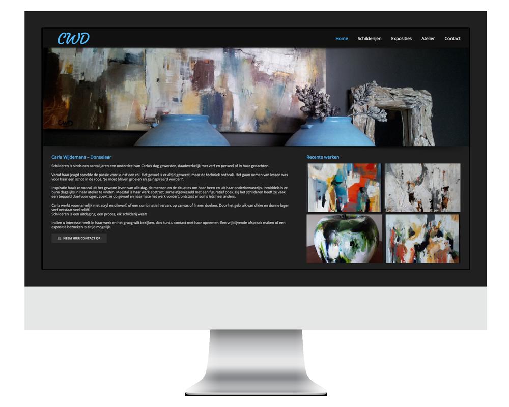 Website Carla Wijdemans