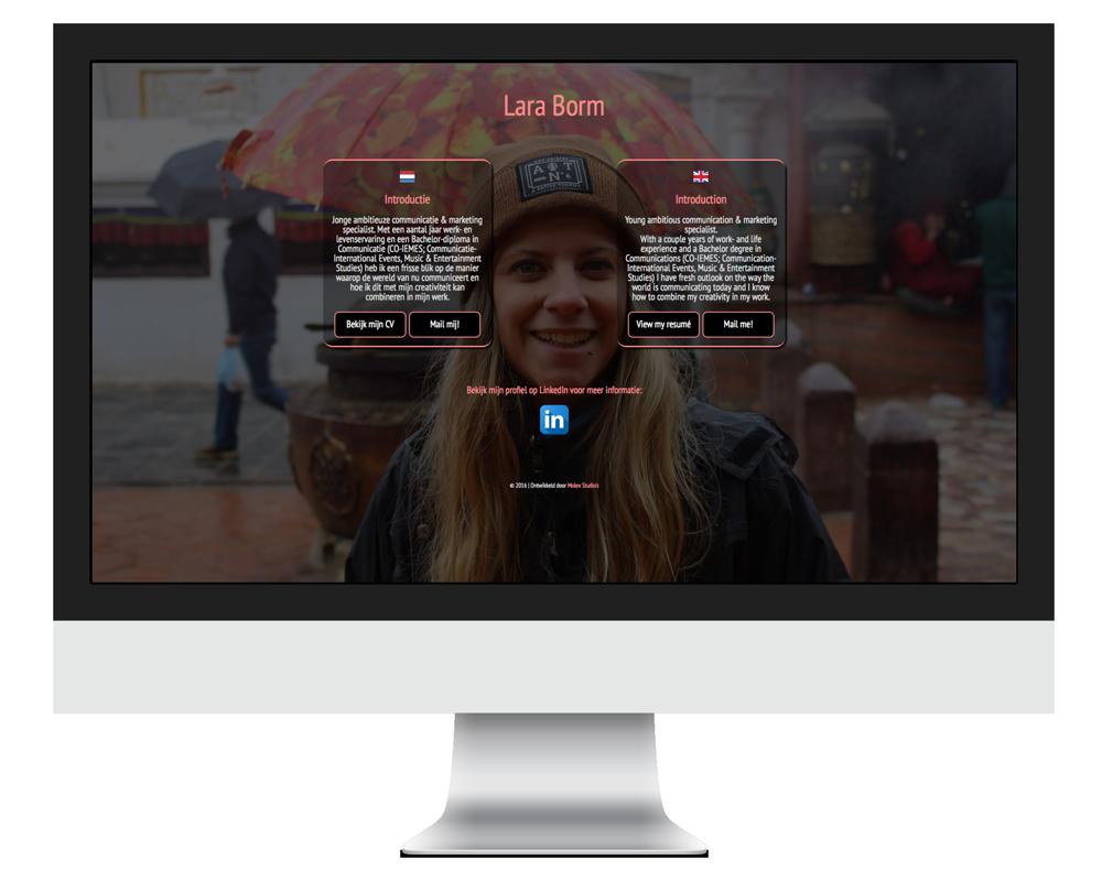Website Lara Borm