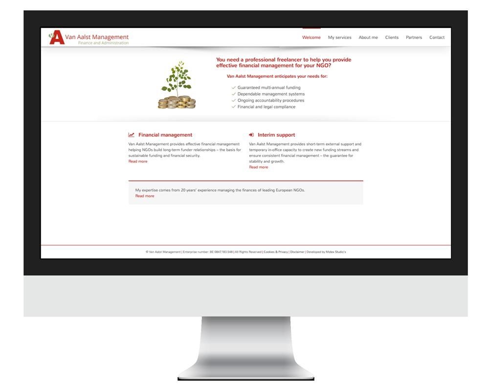 Website Van Aalst Management